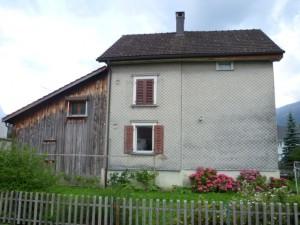 Haus vor Fassadensanierung