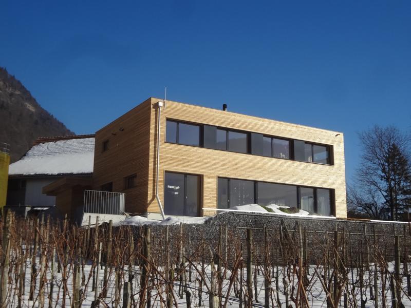 Hausbau in Minergie-P