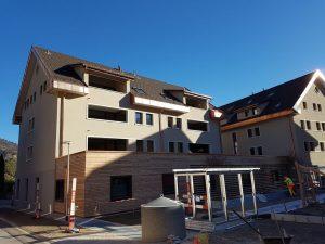 Mehrfamilienhäuser in Kernzone