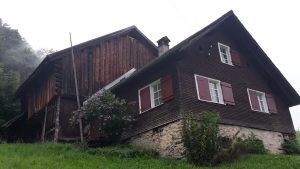 Wohnhaus mit Stall vor dem grossen Umbau