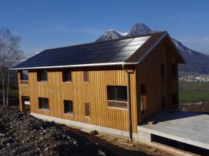 Die Photovoltaik - Anlage generiert Nachhaltikeit