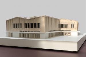 Modell Kulturzentrum