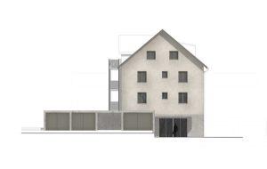 Planstudie Mehrfamilienhaus