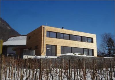 Holzsystembau Minergie-P