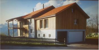 Neubau Doppel EFH in Holzbauweise